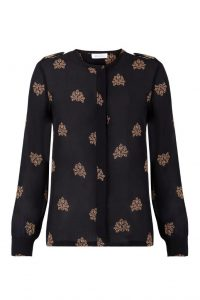 Intropia Silk Patterned Blouse