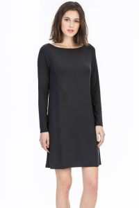 Lilla P Stretch Jersey Long Sleeve Seamed Dress