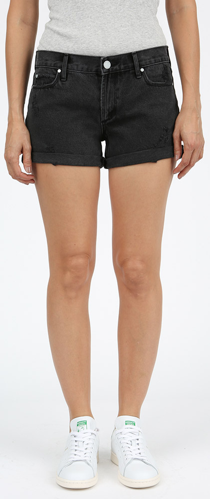 819d48c54a Articles of Society Behy Relaxed Boyfriend Shorts - Dresden - Stick ...