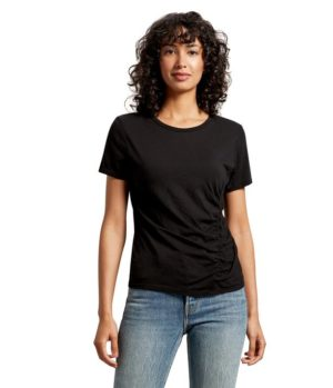 6efe8a0afc0d Michael Stars Jess Asymmetrical Ruched Tee – White. £75.00. Select options.  N